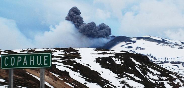 ARCHIVO | Volcán Copahue | Agencia UNO