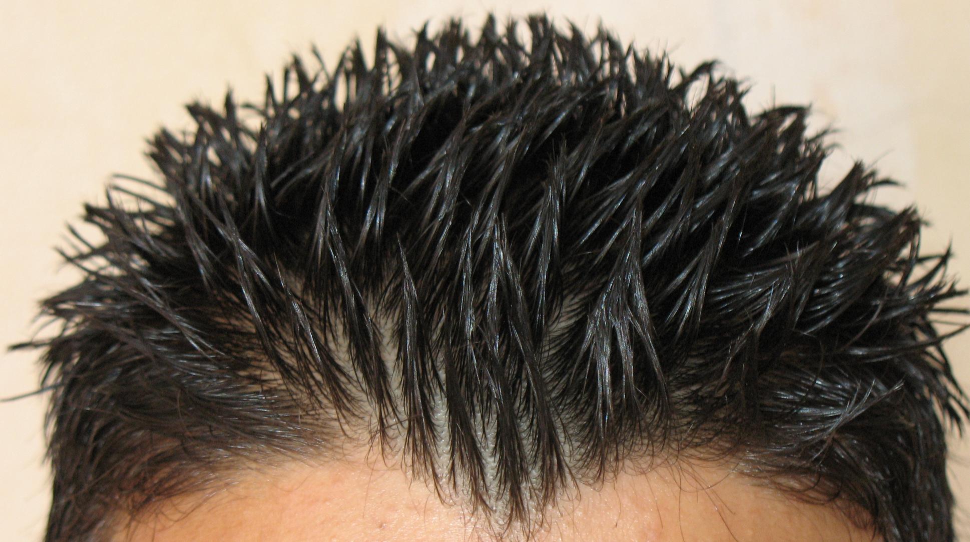 Corte de cabello para hombre la v