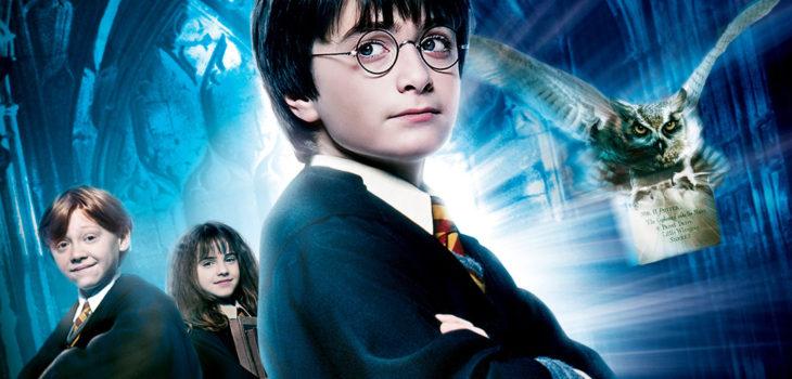 Imagen promocional de la película Harry Potter y la Piedra FIlosofal