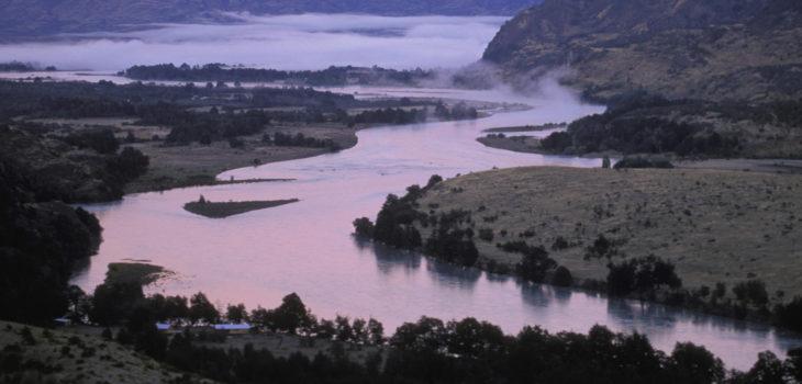 Rio Baker near Cochrane, Chile