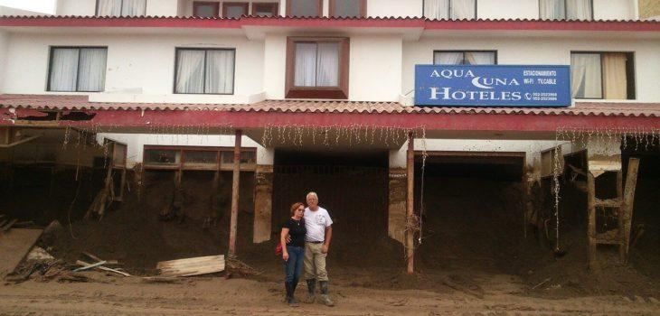 Hotel Aqua Luna tras los aluviones