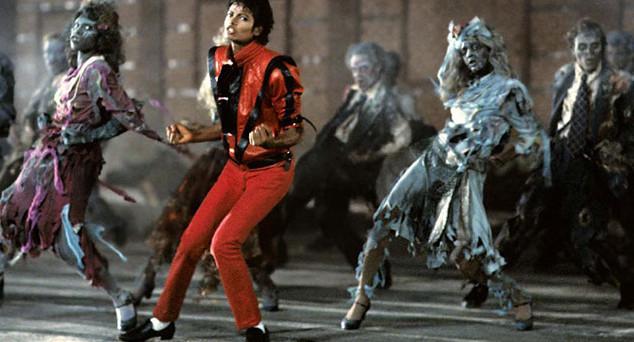 Captura del videoclip de Thriller