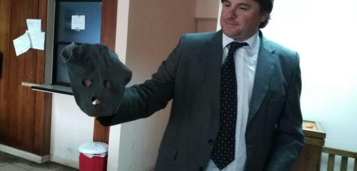 Pasamontañas utilizado para efectuar los robos   Tania Lavado   RBB
