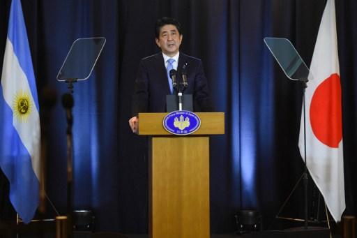 Shinzo Abe   Agencia AFP
