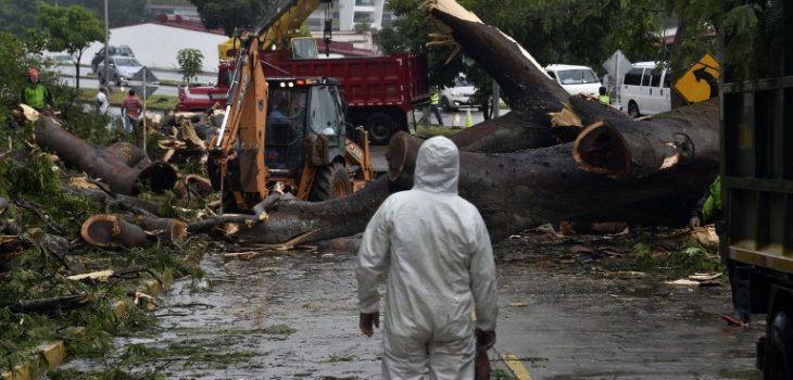 Huracán Otto en Panamá   Agencia AFP