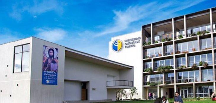 Universidad Católica de Temuco en Facebook