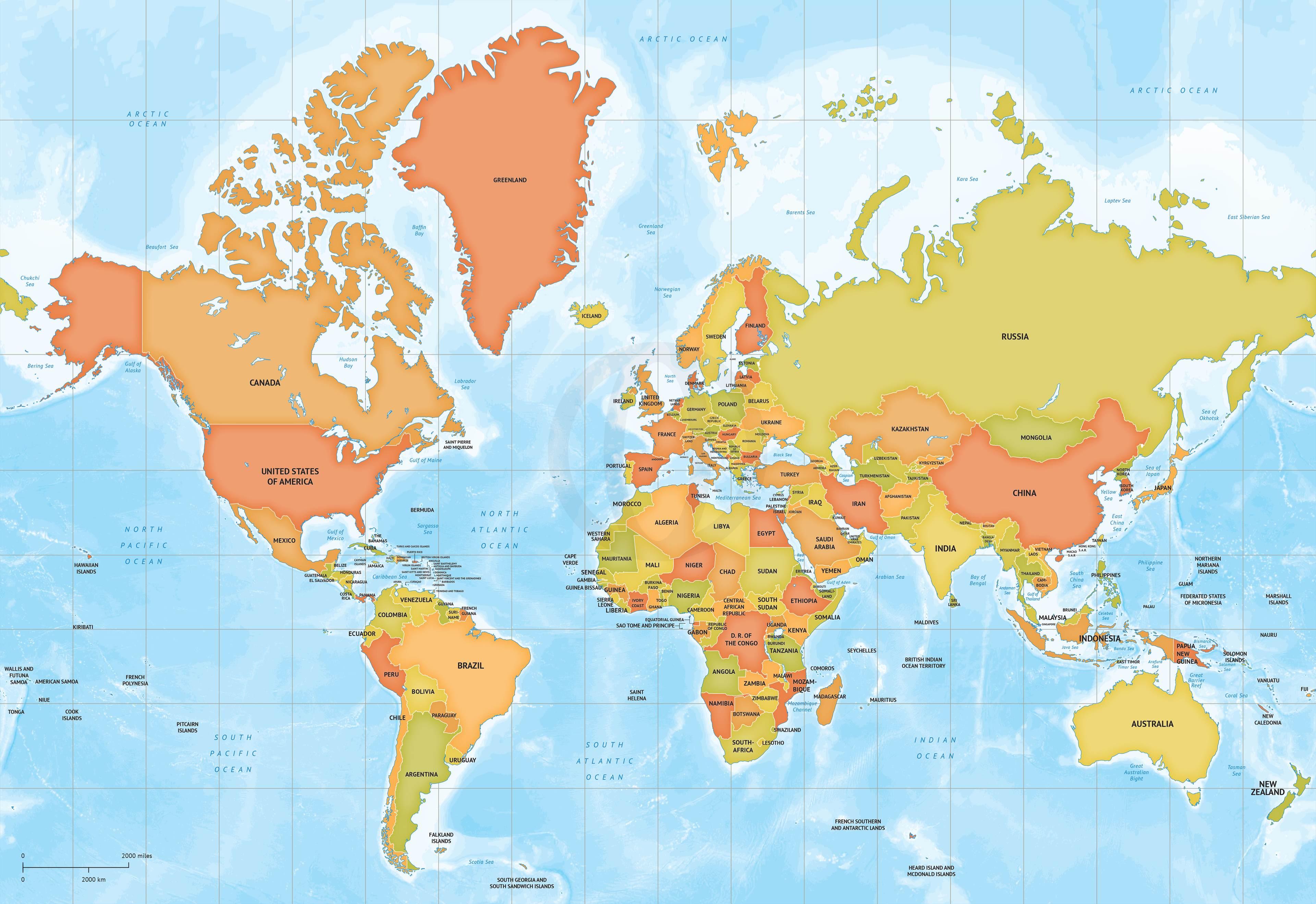 Artista Japones Crea El Mapa Mas Fiel Al Planeta Sociedad
