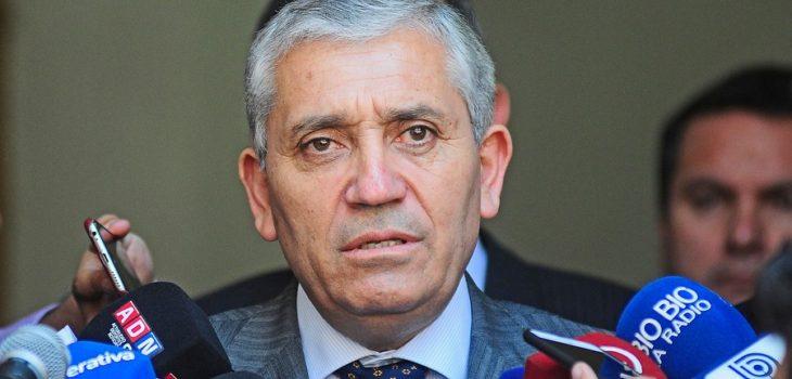 Héctor Espinosa, director general de la PDI   Agencia UNO