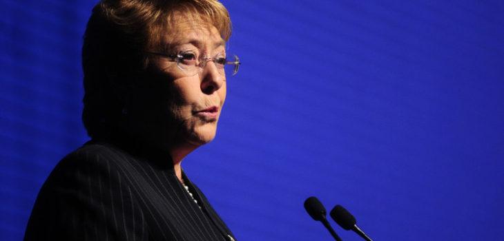 Michelle Bachelet   Agencia UNO