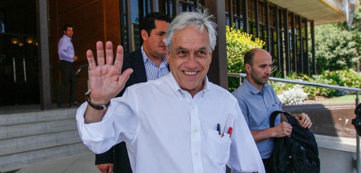 Sebastián Piñera | Yvo Salinas | Agencia UNO