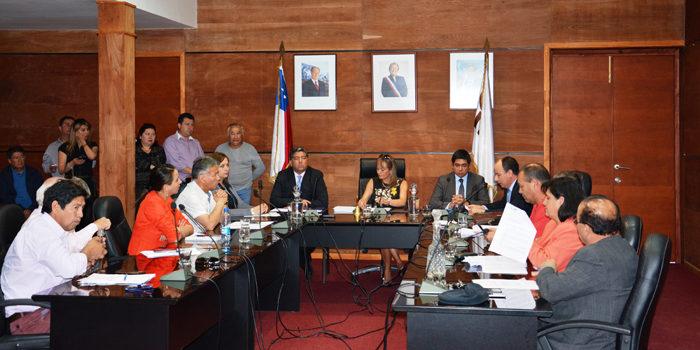 Concejo municipal | ARCHIVO | hualpenciudad.cl