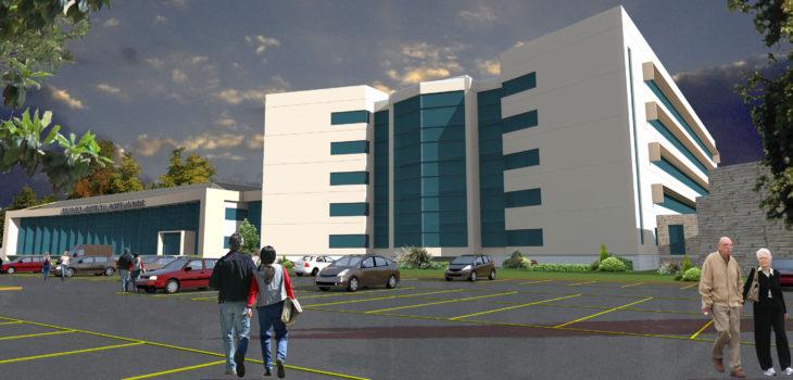 Diseño nuevo Hospital Padre Las Casas