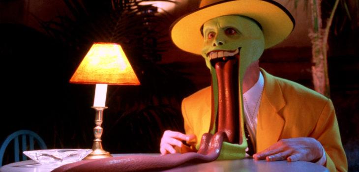 """""""La Máscara"""" original de Jim Carrey"""