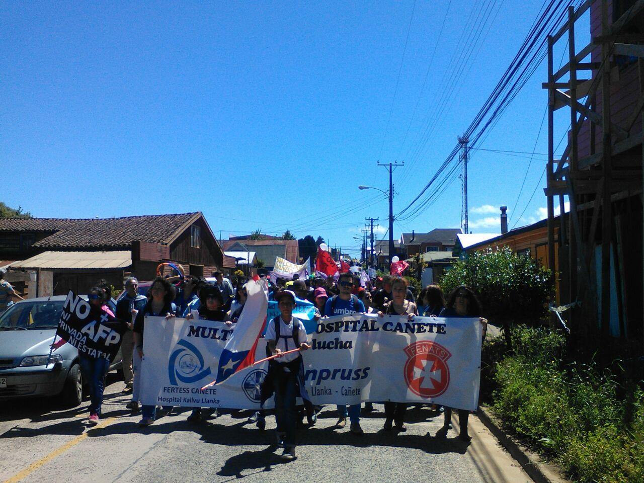 MARCHA EN CAÃ'ETE