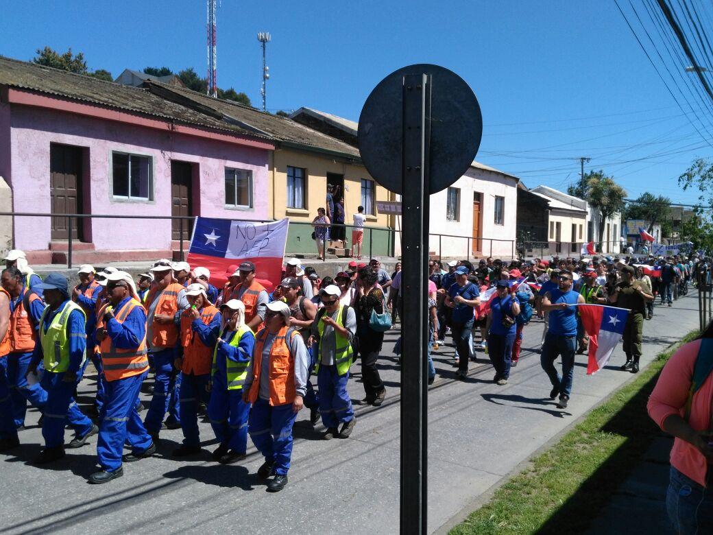 MARCHA EN PENCO