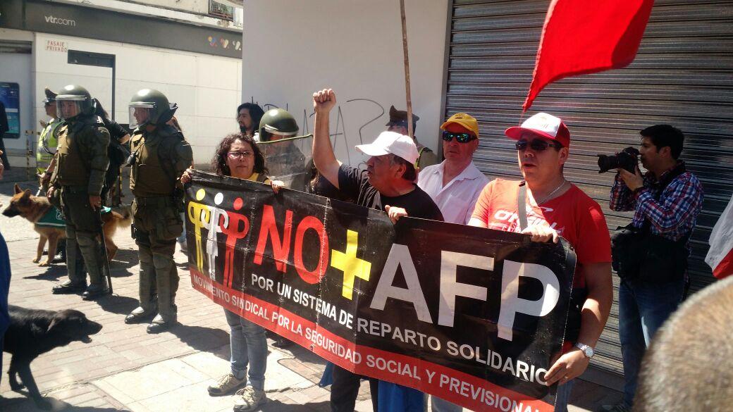 "NO + AFP CONCEPCIÃ""N"