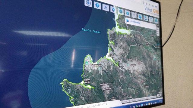 Habitantes de la ciudad de Valparaíso efectúan simulacro binacional de tsunami