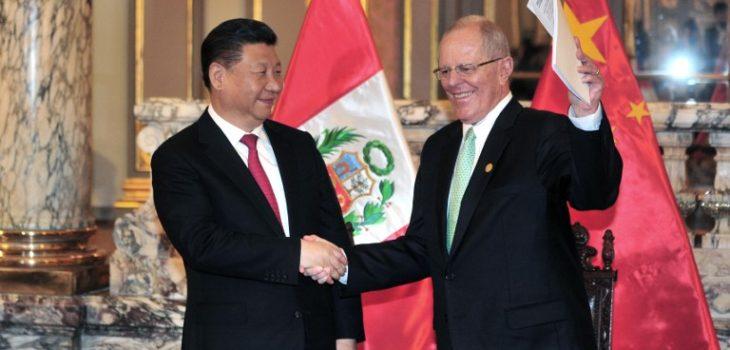 Xi Jinping  y Pedro Pablo Kuczynski | Agence France-Presse