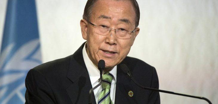 Ban Ki-moon | Agencia AFP