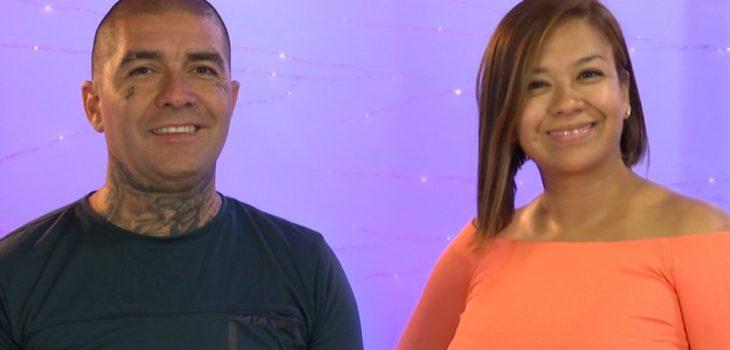 Leo Mendez y su esposa | Mega