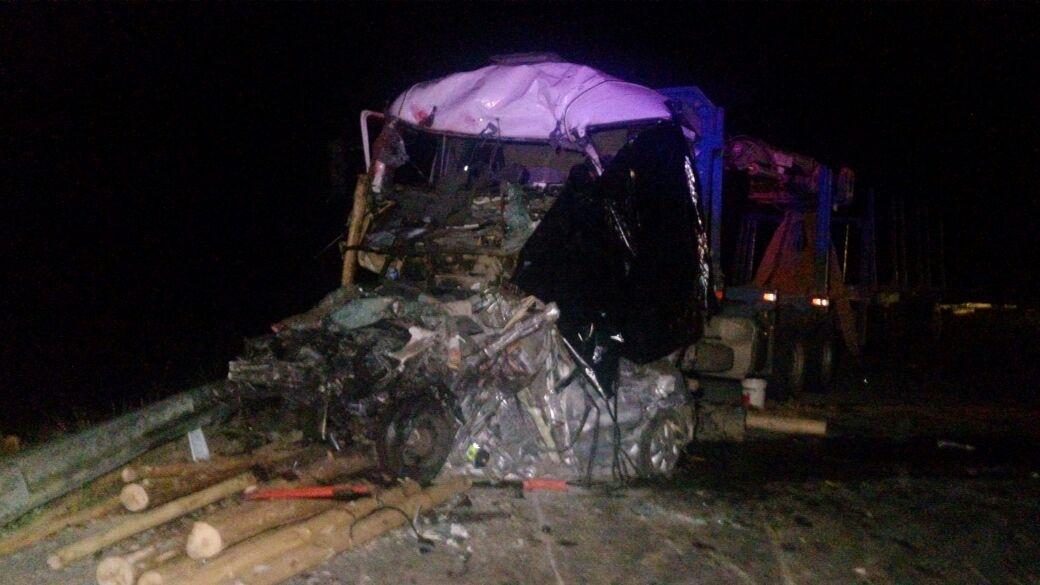 Accidente en Ruta de La Madera