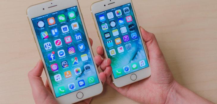Imagen de contexto de un iPhone 7 | Digital Trends