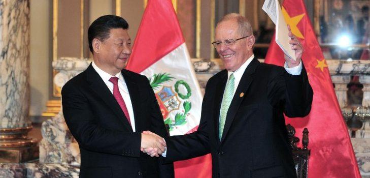 Xi Jinping y Kuczynski | ARCHIVO | Agence France-Presse