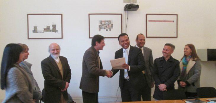 Firma convenio   Universidad Arcis