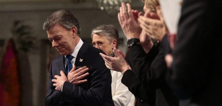 Juan Manuel Santos | Haakon Mosvold Larsen | NTB SCANPIX | AFP