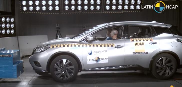 La Nissan Murano en el test | Captura de Youtube
