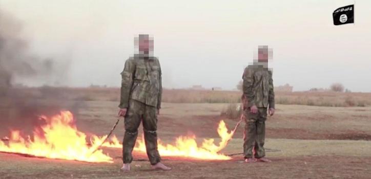 Imagen del video publicado por EI