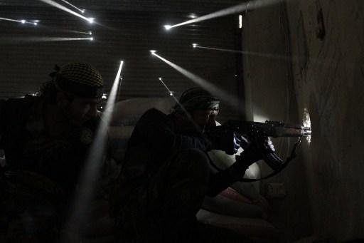 Rebeldes sirios | Agencia AFP