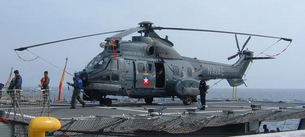 Archivo | Un helicóptero Cougar AS-53 de la Armada chilena | The Huffington Post