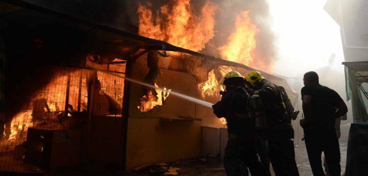 Incendio en Quilpué | Pablo Ovalle | Agencia UNO