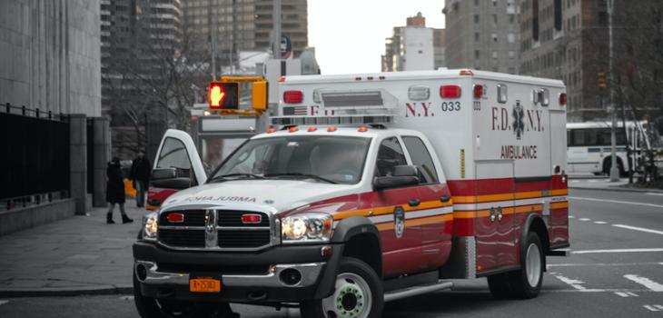 Ambulancia en Nueva York | RAW Story