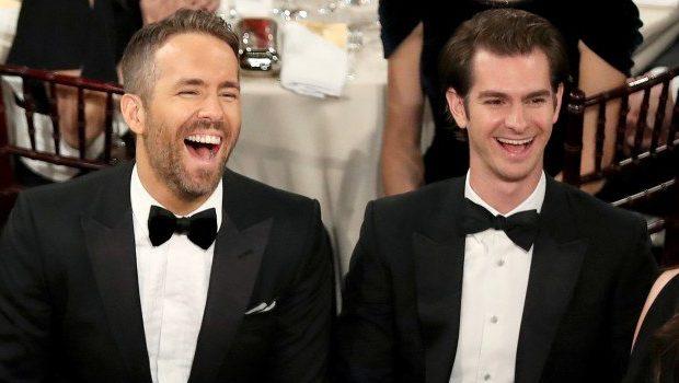 Ryan Reynolds y Andrew Garfield l Globos de Oro