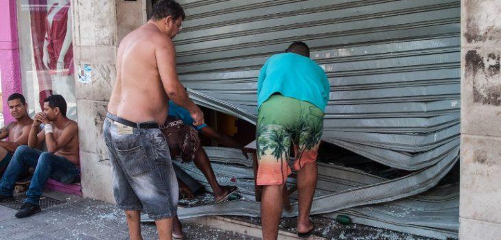 Asalto a una tienda cerca de la ciudad de Vitória   Agencia AFP