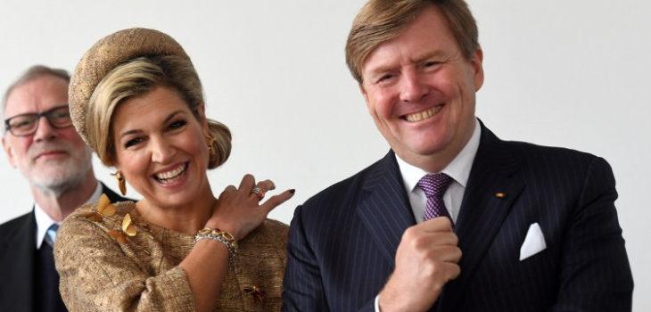El rey Guillermo Alejandro junto a la reina Máxima   AFP