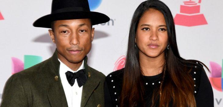 Pharrell Williams y Helen Lasichanh | Ethan Miller | Getty Images | AFP