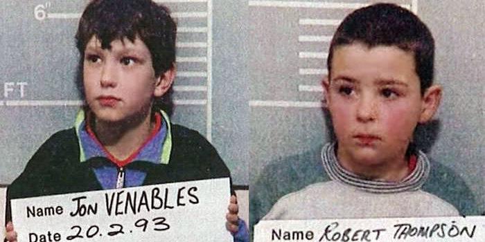 Los niños británicos que asesinaron a James Bulger en 1993