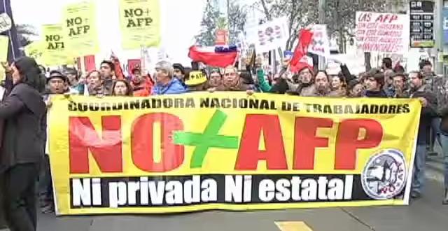 """""""No más AFP"""" Los Ángeles"""