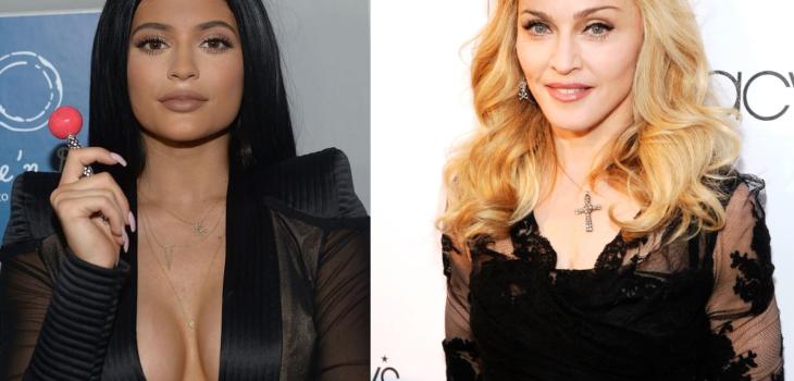 Kylie Jenner y Madonna