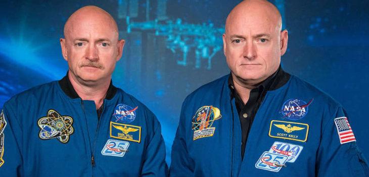 Mark (izquierda) y Scott Kelly (derecha) | NASA