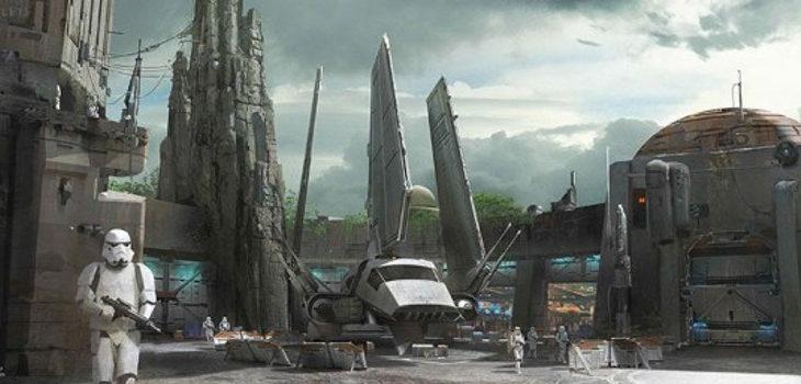 Así sería el parque de Star Wars  en Disney