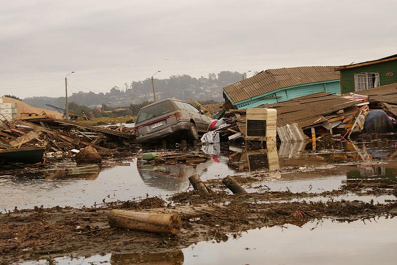 ARCHIVO | Efectos del tsunami en las costas chilenas | Wikipedia (CC)