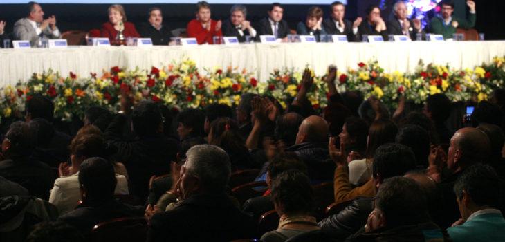 XII Congreso de la Asociacion Chilena de Municipalidades  Foto: Agencia Uno