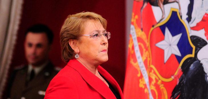 Presidenta Bachelet   Sebastián Beltrán   AGENCIAUNO