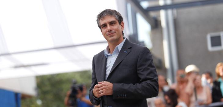 José Manuel Palacios, alcalde de La Reina. Gentileza Agencia UNO.