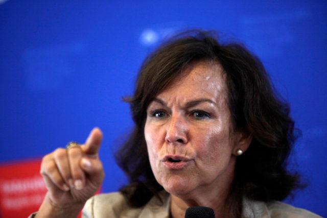 Alejandra Krauss, ministra del Trabajo