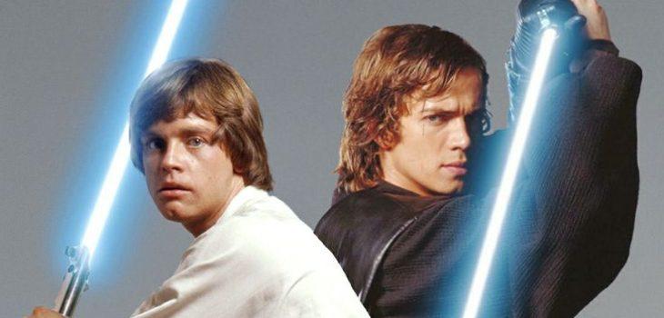 Luke y Anakin Skywalker    Lucasfilm
